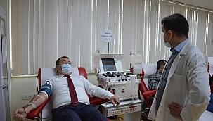 CHP Manisa İl Sağlık Komisyonundan İmmün Plazma Bağışı